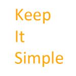 Keep Writing Simple...